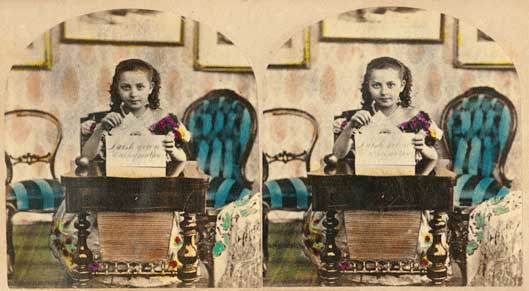 writing-girl-stereoview